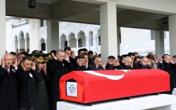 Cumhurbaşkanı Erdoğan, Şehit Astsubay Ertan'ın Cenaze Törenine Katıldı