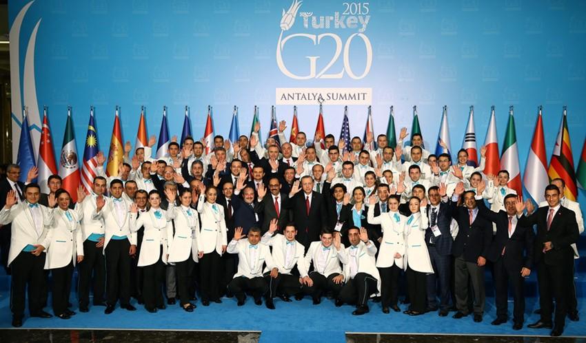 Antalya'da Gerçekleştirilen G-20 Liderler Zirvesi Sona Erdi -A26