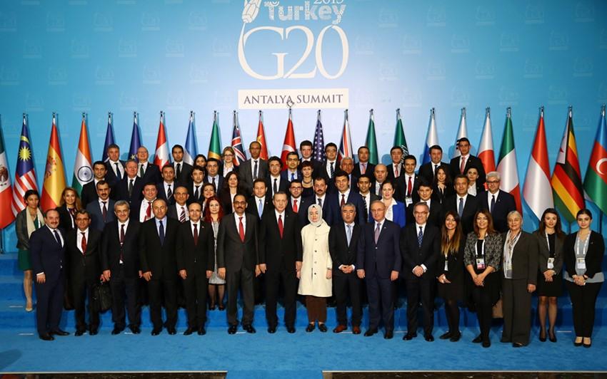 Antalya'da Gerçekleştirilen G-20 Liderler Zirvesi Sona Erdi -A28