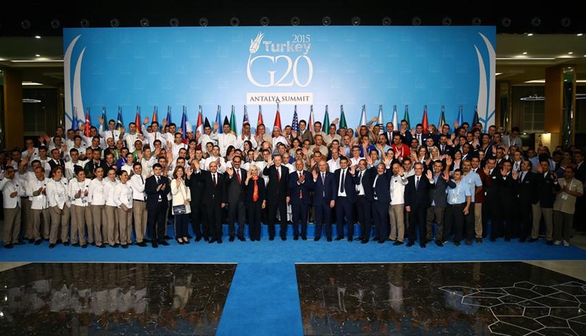 Antalya'da Gerçekleştirilen G-20 Liderler Zirvesi Sona Erdi