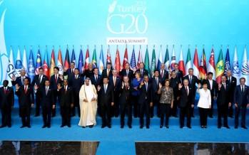 G-20 Liderler Zirvesi Antalya'da Başladı