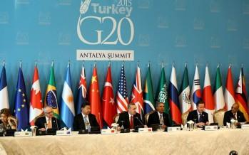 Cumhurbaşkanı Erdoğan, 'Kalkınma ve İklim Değişikliği' Konulu Çalışma Yemeğine Katıldı