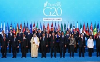 G20 Liderler Zirvesi tarihinde bir ilk