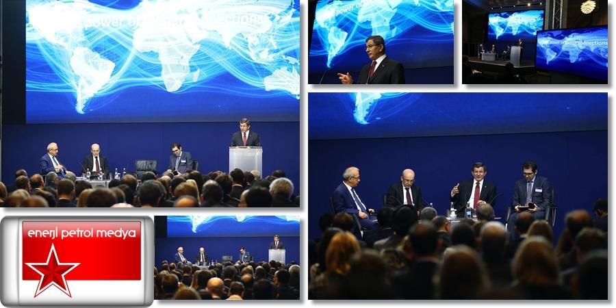 Başbakan Ahmet Davutoğlu  - İngiltere  Londra (9)