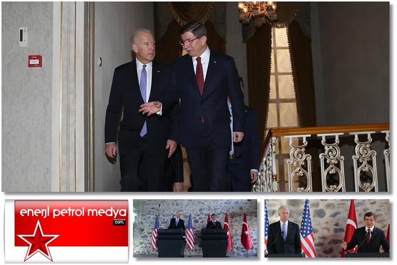 Başbakan Ahmet Davutoğlu, ABD Başkan Yardımcısı Joe Biden - İstanbul   -A1- 985