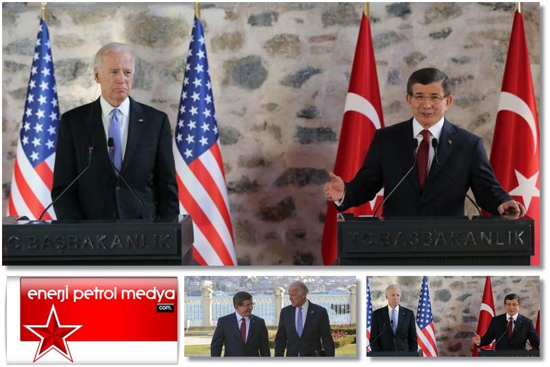 Başbakan Ahmet Davutoğlu, ABD Başkan Yardımcısı Joe Biden - İstanbul   -A1- 988