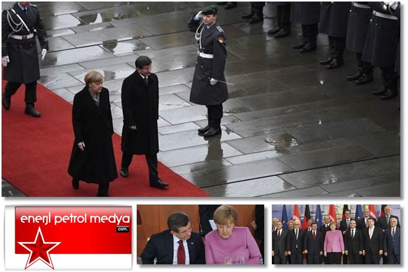 Başbakan Ahmet Davutoğlu -  Almanya Başbakanı Angela Merkel - Almanya Berlin -1220