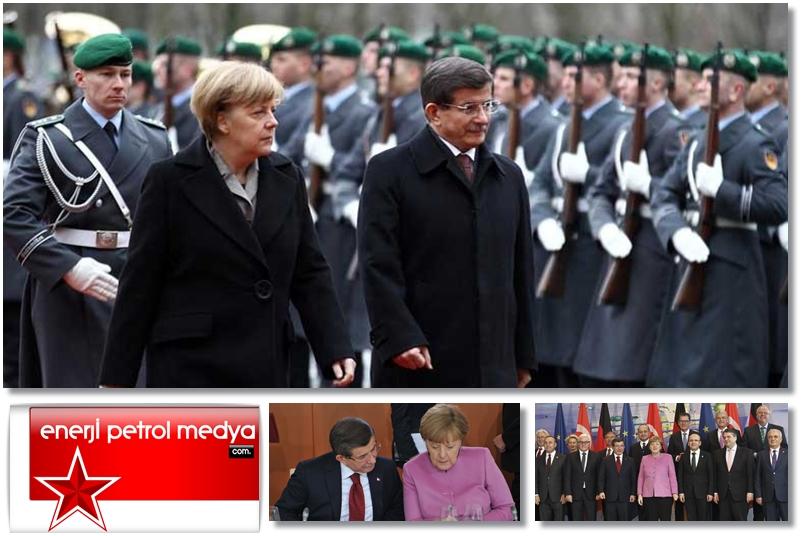 Başbakan Ahmet Davutoğlu -  Almanya Başbakanı Angela Merkel - Almanya Berlin -2-50