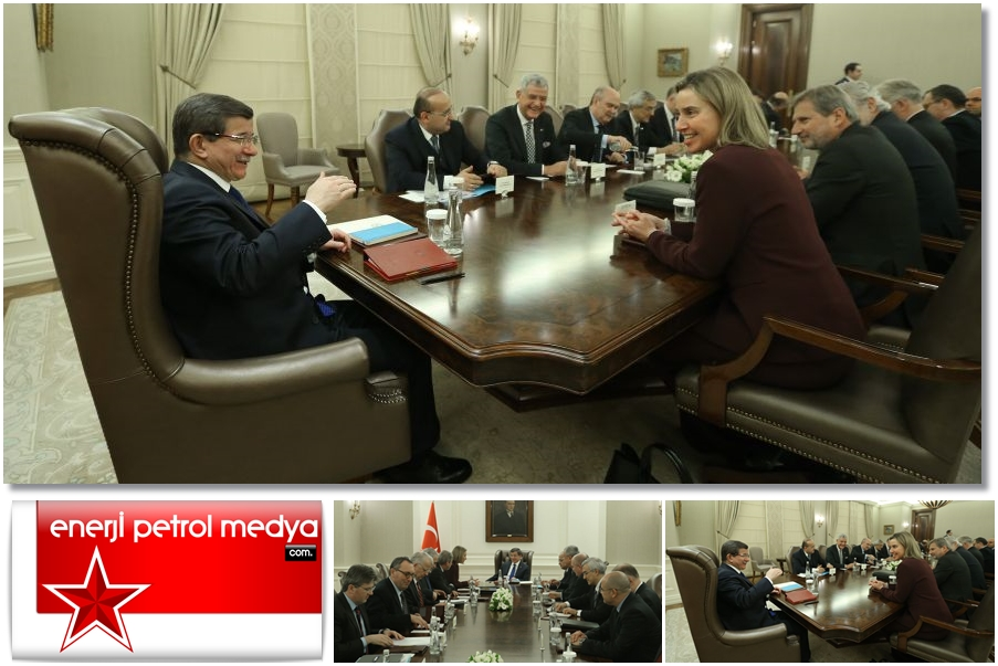Başbakan Ahmet Davutoğlu Avrupa Birliği heyetini kabul etti -90- 0