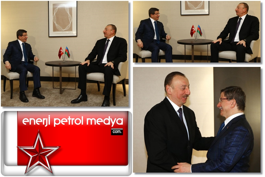 Başbakan Ahmet Davutoğlu, Azerbaycan Cumhurbaşkanı İlham Aliyev 12443