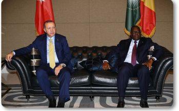 Cumhurbaşkanı Recep Tayyip Erdoğan, Senegal'de