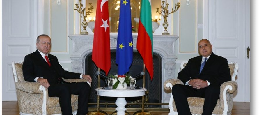 Cumhurbaşkanı Erdoğan Bulgaristan'da