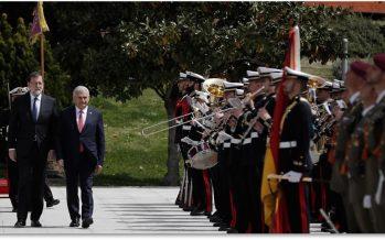 Başbakan Binali Yıldırım İspanya'da
