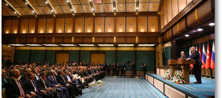 Suriye'de huzur ve güvenliğin sağlanması noktasında Rusya ile beraber çalışmayı sürdüreceğiz