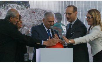 Başbakan Yıldırım, Allianz İzmir Kampüs'ün açılışına katıldı.