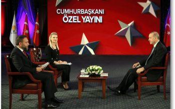 Cumhurbaşkanı Erdoğan, TRT canlı yayınında gündeme ilişkin soruları yanıtladı