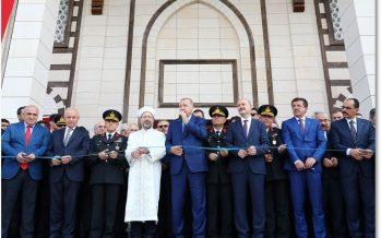 Cumhurbaşkanı Erdoğan, Jandarma ve Sahil Güvenlik Akademisi Camisi'nin açılış törenine katıldı