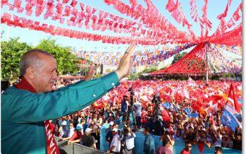 Cumhurbaşkanı Erdoğan, Gaziantep mitinginde konuştu
