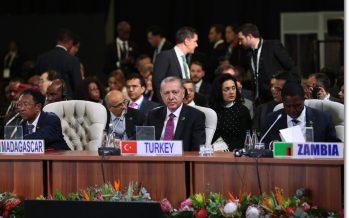 Cumhurbaşkanı Erdoğan, BRICS Zirvesi çalışma toplantısına katıldı