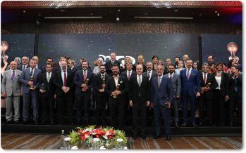 Cumhurbaşkanımız Erdoğan, Medya Oscarları Ödül Töreni'nde konuştu