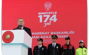 """Cumhurbaşkanı Erdoğan""""Devletimizi ayakta tutan güvenlik, adalet, ekonomi gibi değerlerimize sıkı sıkıya sahip çıkmak zorundayız"""""""