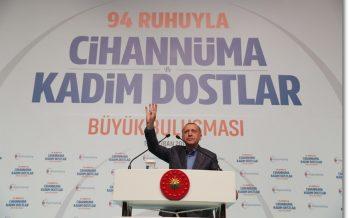 """Cumhurbaşkanı Erdoğan,""""Tüm Müslümanlar merhum Mursi'yi son nefesine kadar yürüttüğü onurlu mücadeleyle hatırlayacak"""""""