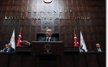 """""""Türkiye'nin istikrarını bozmayı amaçlayanlara en güzel cevabı, icraatlarımız ve başarılarımızla vermekte kararlıyız"""""""