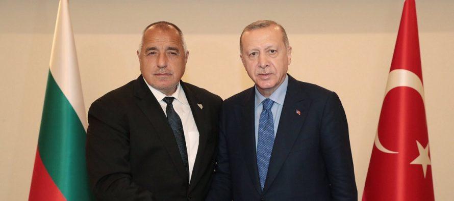 Cumhurbaşkanı Erdoğan, Bulgaristan Başbakanı Borisov ile bir araya geldi