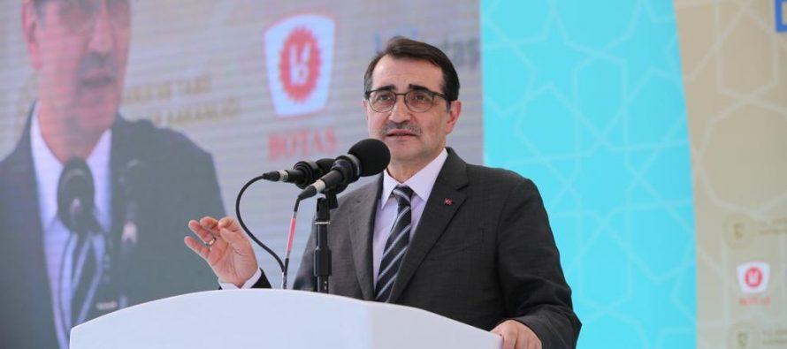 Enerji ve Tabii Kaynaklar Bakanı Fatih Dönmez, Dünyanın en büyük doğal gaz depolama alanını inşa ediyoruz