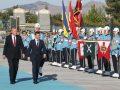 Ukrayna Cumhurbaşkanı Zelenskiy Cumhurbaşkanlığı Külliyesinde