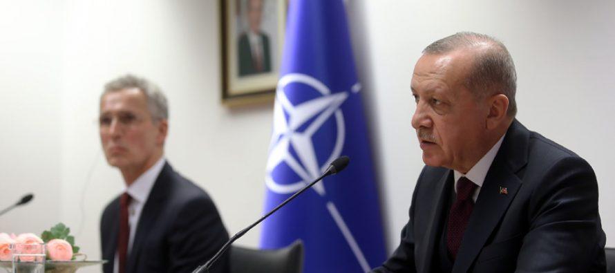 """Cumhurbaşkanı Erdoğan, """"NATO, Türkiye ile ittifak dayanışmasını net bir şekilde göstermesi gereken kritik dönemin içindedir"""""""