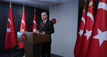 """Cumhurbaşkanı Erdoğan,""""Fatih'in izinden giderek, asıl olanın gönüllerin fethi olduğu anlayışıyla gönüller kazanmak için çalıştık"""""""