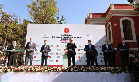 """Cumhurbaşkanı Erdoğan,""""18 yılda 5 bin 60 eseri restore ederek, milletimizin ve insanlığın hizmetine sunduk"""""""