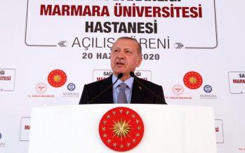Cumhurbaşkanı Erdoğan, Prof. Dr. Asaf Atasever Hastanesi'nin açılışını gerçekleştirdi