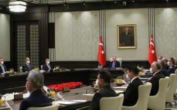"""MGK Bildirisi: """"Doğu Akdeniz'de uluslararası hukuktan kaynaklanan menfaatlerimizi korumakta kararlıyız"""""""