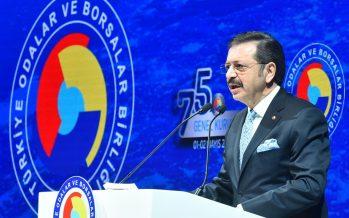 """TOBB Başkanı Hisarcıklıoğlu: """"Kurban Bayramı'nı dayanışma ve kardeşliğimizi güçlendirerek yaşayalım"""""""