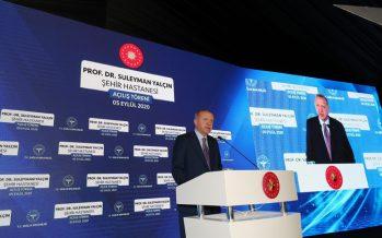 Cumhurbaşkanı Erdoğan, Göztepe Prof. Dr. Süleyman Yalçın Şehir Hastanesi'ni hizmete açtı