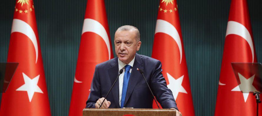 """Cumhurbaşkanı Erdoğan, """"Türkiye, bugün ulaştığı öz güvenle, bölgesinde ve dünyada söz sahibi bir ülke konumuna gelmiştir"""""""