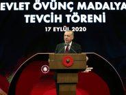 """Cumhurbaşkanı Erdoğan, """"İstikbalimizin garantisi olan ebedi ve ezeli kardeşliğimizin zedelenmesine, zayıflatılmasına asla izin vermeyeceğiz"""""""
