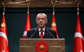"""Cumhurbaşkanı Erdoğan """"Milletimizin hem sağlığını korumayı hem geleceğini inşa etmeyi birlikte temin edecek bir anlayışla çalışmalarımızı sürdürüyoruz"""""""