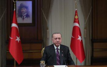 """Cumhurbaşkanı Erdoğan,""""Hedefimiz, ülkemizde haberleşme altyapısının kapsama alanına girmeyen tek karış bırakmamaktır"""""""