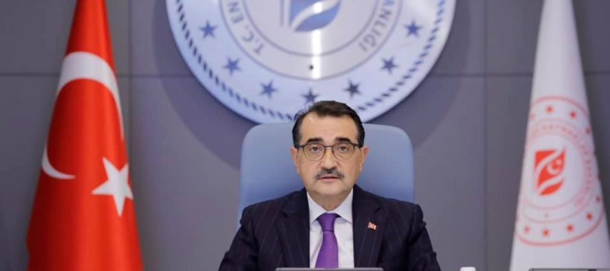 """Enerji ve Tabii Kaynaklar Bakanı Fatih Dönmez, """"Cari açığımızın kapanmasında yerli kömürün katkısı çok büyük"""""""