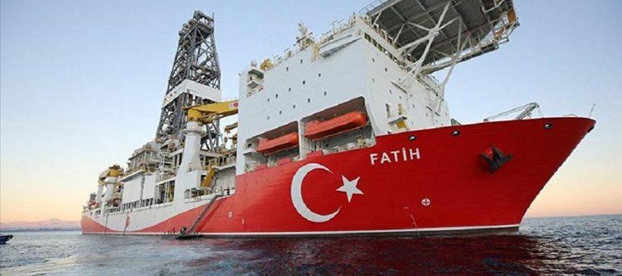 Enerji Bakanı Fatih Dönmez, Fatih Sondaj Gemisi Türkali-1 kuyusunda sondaja başladı