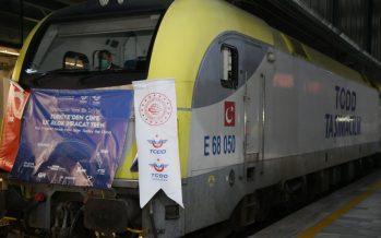 Çin İhracat Treni, Çerkezköy'den Xi'an şehrine kesintisiz yolculuğunu tamamladı