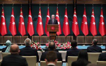 """Cumhurbaşkanı Erdoğan, """"Mavi vatandan siber uzaya kadar her sahada egemenlik haklarımıza sahip çıkacağız"""""""