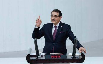 Enerji Bakanı Fatih Dönmez, bakanlığın faaliyetleri ve bütçesine ilişkin değerlendirmelerde bulundu