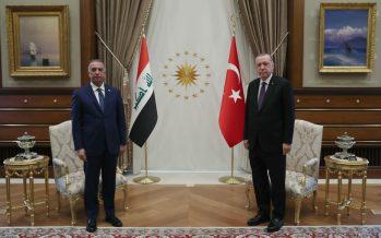 Irak Başbakanı Kazımi Cumhurbaşkanlığı Külliyesinde