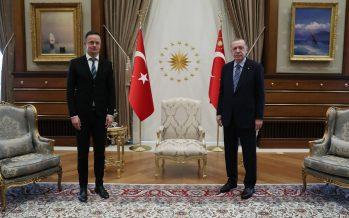 Cumhurbaşkanı Erdoğan, Macaristan Dışişleri ve Ticaret Bakanı Szıjjarto'yu kabul etti