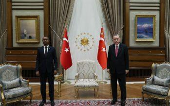 Cumhurbaşkanı Erdoğan, Somali Adalet Bakanı Nur'u kabul etti