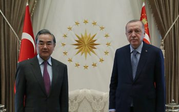 Cumhurbaşkanı Erdoğan, Çin Halk Cumhuriyeti Dışişleri Bakanı Wang Yi'yi kabul etti